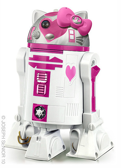Holy Kaw! All the topics that interest us   R2D2 + Hello Kitty = H2K2